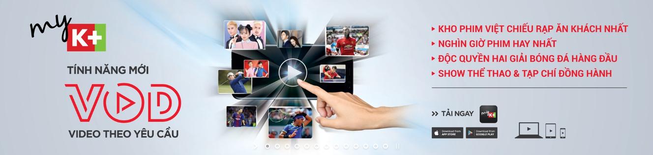 Video theo yêu cầu, VOD, myK+, Truyền hình K+