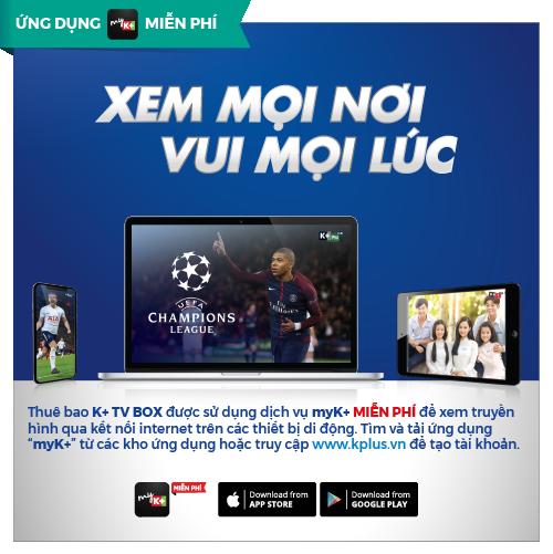 K+TV Box, Box K+, Box truyền hình K+, truyền hình K+, K+tivi box