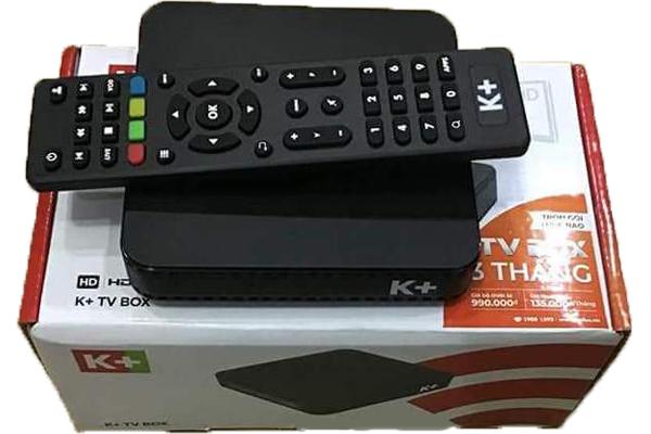 K+TV Box, Box K+, Box truyền hình K+, truyền hình K+