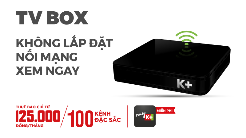 K+ TV Box, Box K+, K+ Tivi box