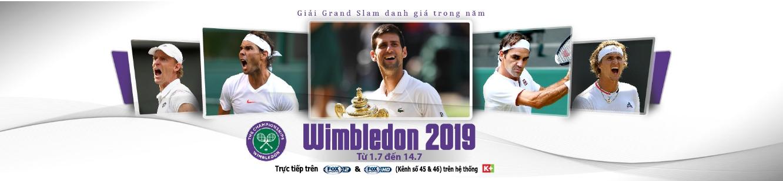 Tennis, quần vợt, Wimbledon 2019
