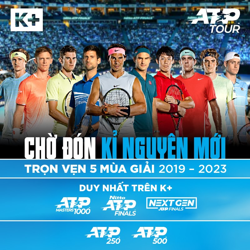 ATP World Tour Master 1000, ATP World Tour Finals, ATP Next Gen, Tennis, quần vợt
