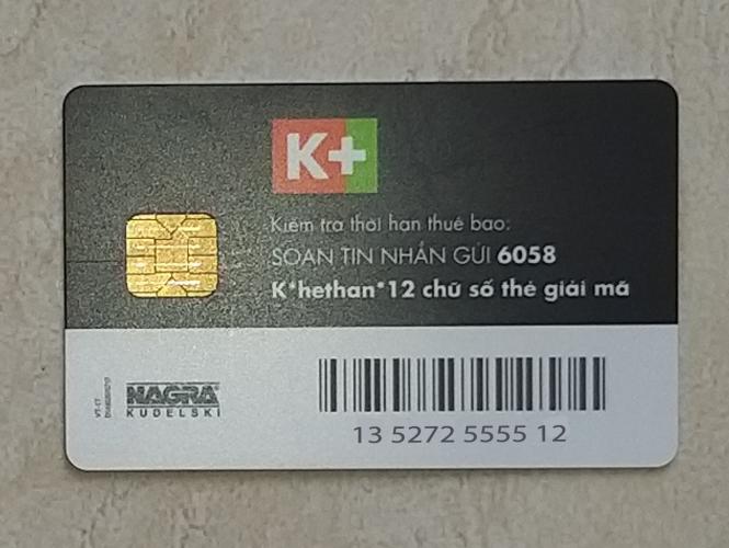 Hướng Dẫn Xem Mã Thẻ K+ Của Các Loại Đầu Thu K+