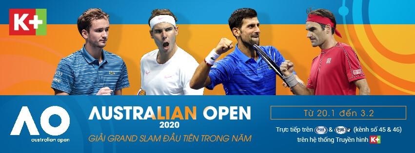 ATP 2020 trọn vẹn trên Truyền hình K+