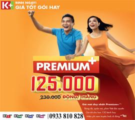 Gói kênh Premium+, Kênh K+, Truyền hình K+