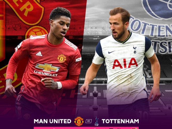 Ngoại hạng Anh 2020 –  Manchester United và Tottenham