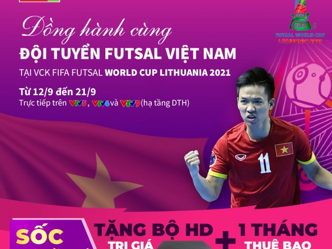 Lịch phát sóng vòng chung kết Fifa World Cup Futsan