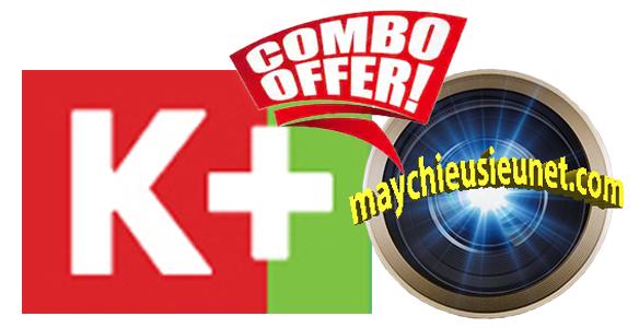 Combo Truyền Hình K+ và Máy Chiếu