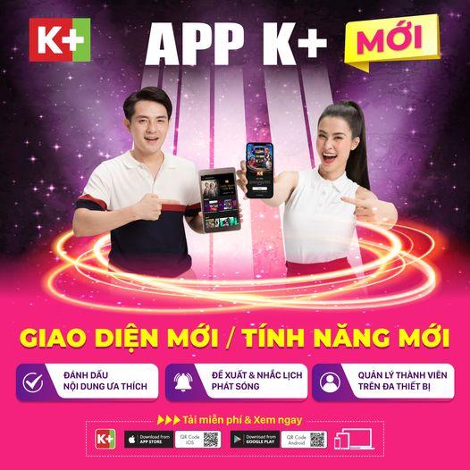 Truyền hình K+ Ra Mắt Giao Diện Mới Cho K+ TV Box và App K+